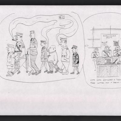 Military caricatures