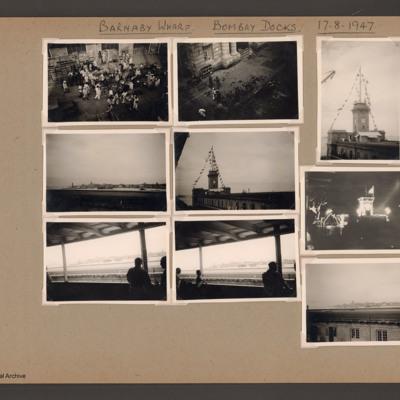 Barnaby Wharf Bombay Docks