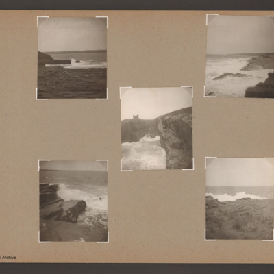 Five seascapes