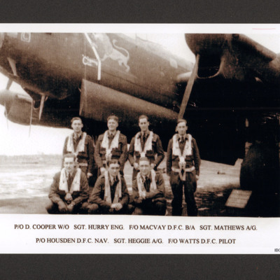 Flying Officer Watts and crew