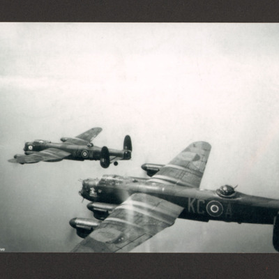 Two Lancaster