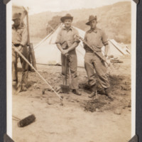Workers in camp
