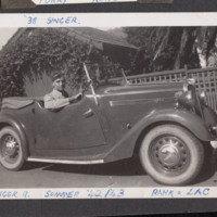 Arthur Atkins in 1938 Singer