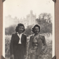 Women at Goring Castle