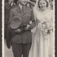 Arthur Atkins' wedding