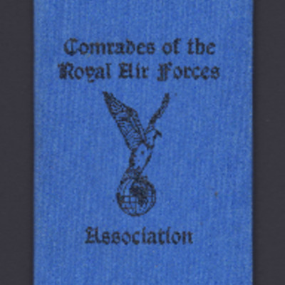Comrades of the Royal Air Force Association rule book