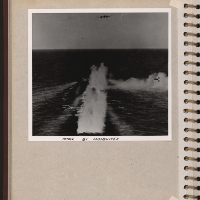 Maritime rocket attack