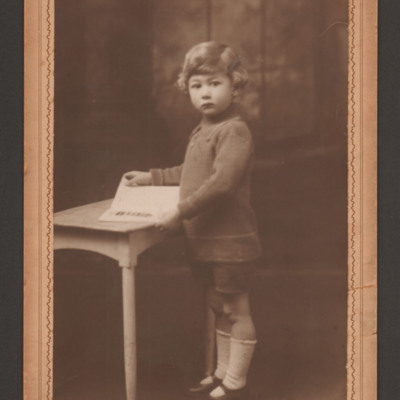 Roy Briggs, age three