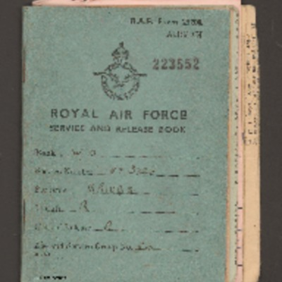 Roy Briggs's service and release book