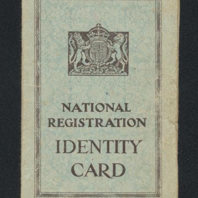 Elizabeth Marshall's Identity card