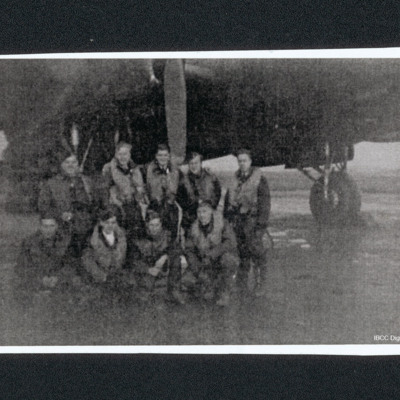 Six aircrew and three ground crew