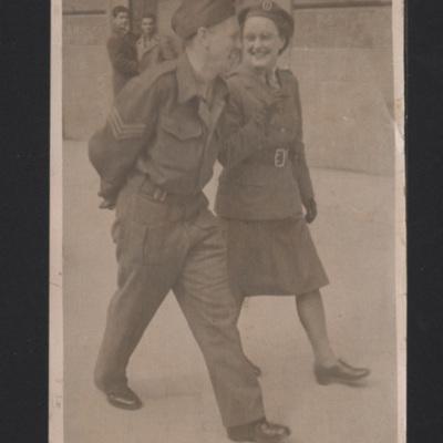 Charles and Margaret Ward in Bari