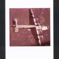 B-24 in flight over Italy<br /><br />