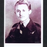 Jim Auton in uniform