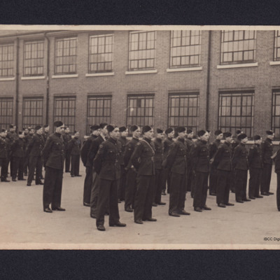 Airmen on parade