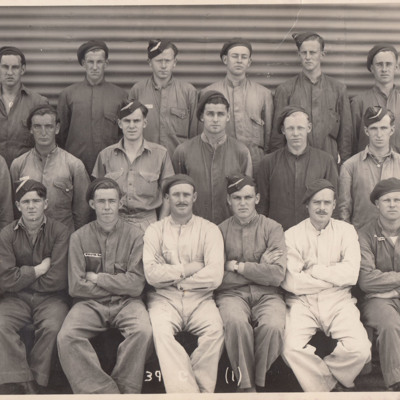 Course 39 Gunners No. 3 Bombing and Gunnery School, West Sale.<br /><br />