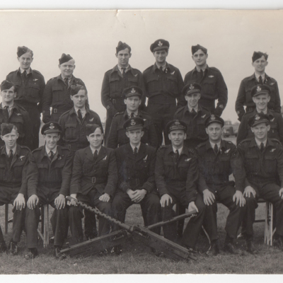 Gunners of 467 Squadron at RAF Metheringham