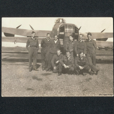 G-George's aircrew and ground crew