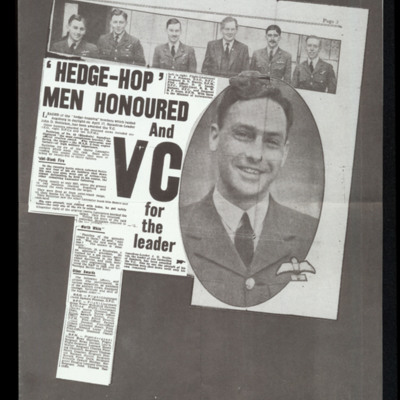 Hedge-hop men honoured and VC for the leader