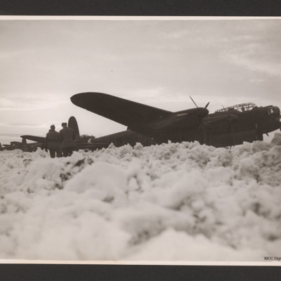 Lancasters in snow