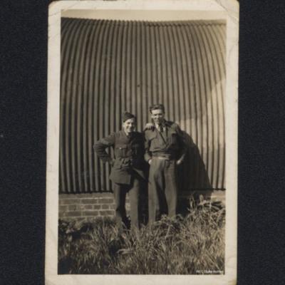 Malcom Blake and Harry James