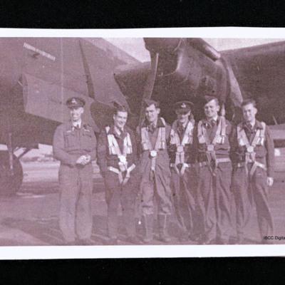 Bill Ryan's crew at Waddington 467 Squadron July 1944