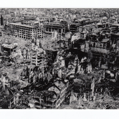 Bomb damage to Cologne