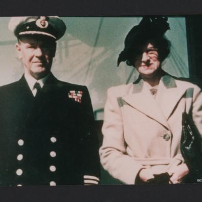 Merchant navy officer and women