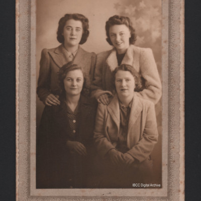 Group of four women