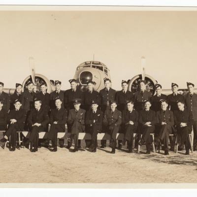 28 airmen and an Anson