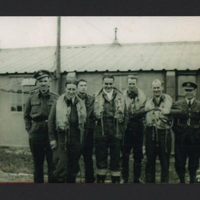 Eight aircrew