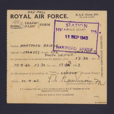 RAF Day Pass