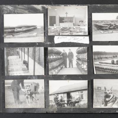 RAF Binbrook chapel and bomb dump.