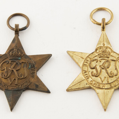 Henry Ansell's 1939 to 1945 Star and Air Crew Europe Star