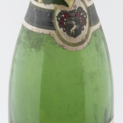 Faber-Gold  wine bottle