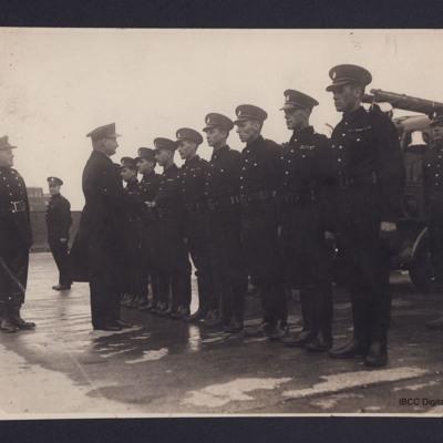 Firemen on parade