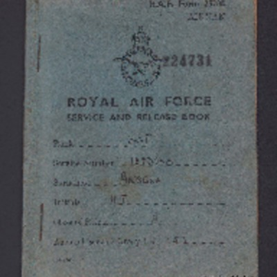 Henry Ansell's service and release book