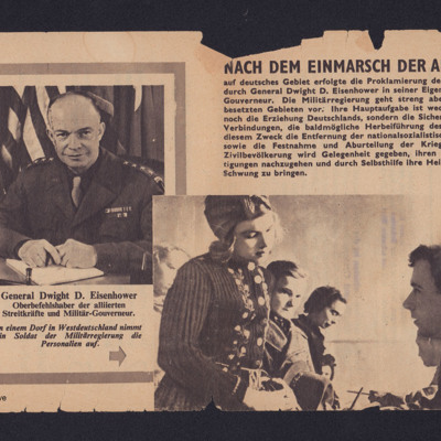 Bericht aus Westdeutschland