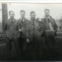 Four trainees at Eastbourne Navigation School