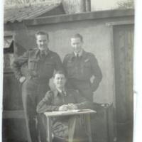 Three observers at RAF Brize Norton