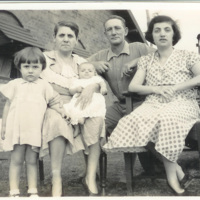 William Barfoot's parents with members of another family