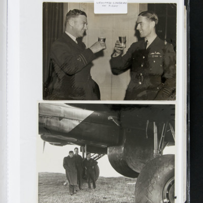 Leonard Cheshire and officer