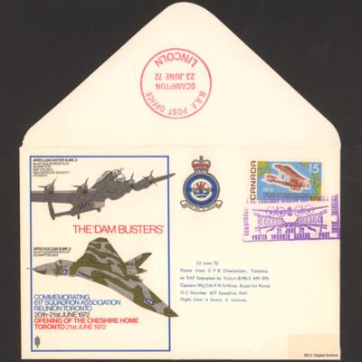 Commemorative Dam Busters envelope
