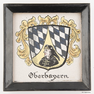 Oberbayern plaque