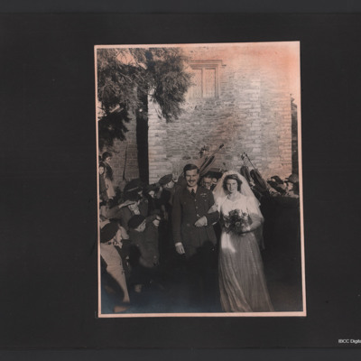 Denis Clyde-Smith wedding
