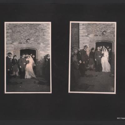 Denis Clyde-Smith's wedding