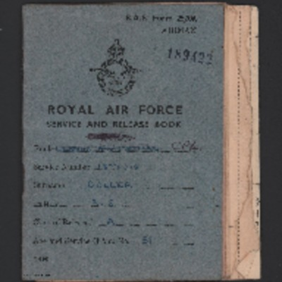 Corporal AS Coller Service and Release Book