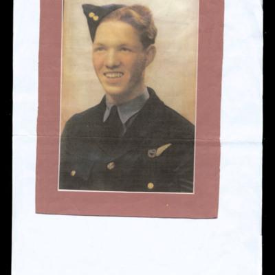 Photograph of air gunner sergeant