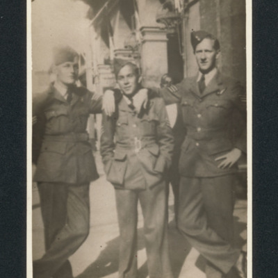 Three airmen