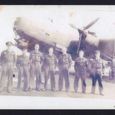 Seven Airman and a Halifax